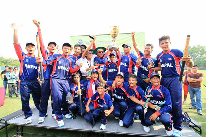The U16 tournament win has given Nepal hopes of reviving its once glorious youth cricket.