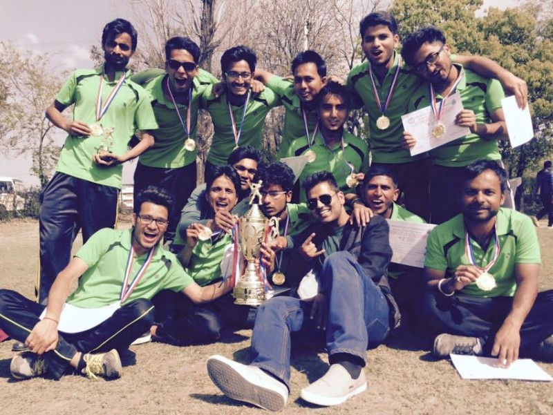 BPKIHS team - Winners of 2nd KIST Cup with pose with Trophy, Medals and Certificates. Photo Courtesy - Raj Kumar Shah