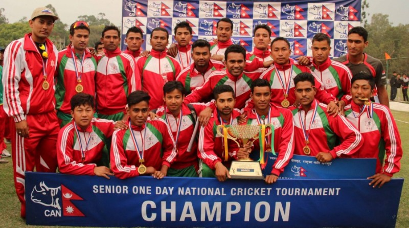 Winner Tribhuwan Army Club