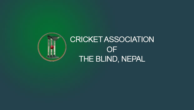 Cricket Association of Nepal Blind