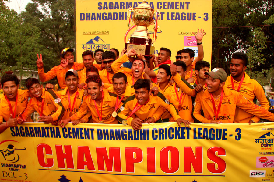 Dhangadi Cricket League