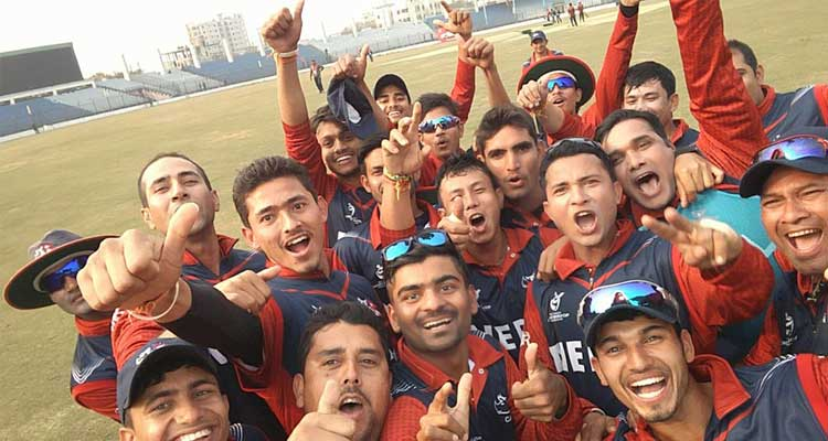 Nepal U19 team wins over NZU19