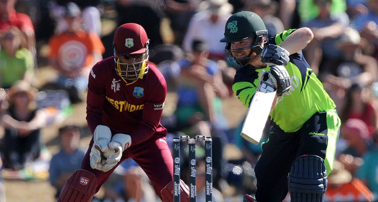 Ireland upsets West Indies