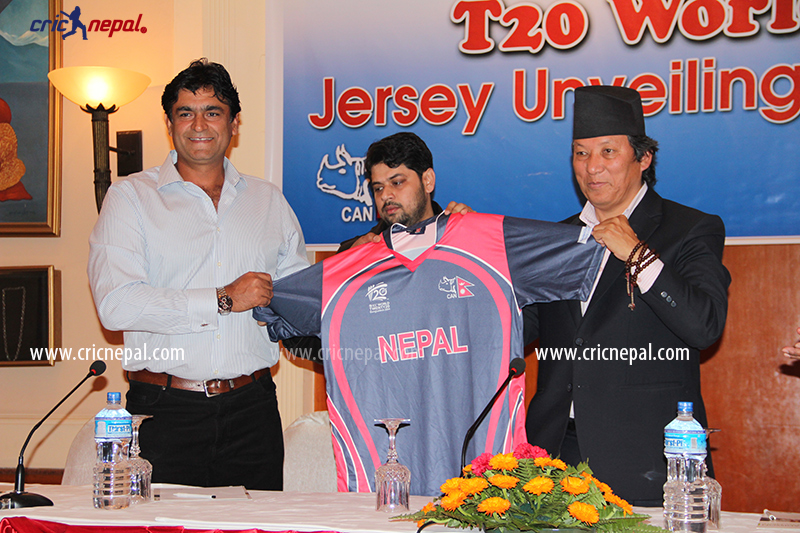 Nepal Brand New Cricket Jersery