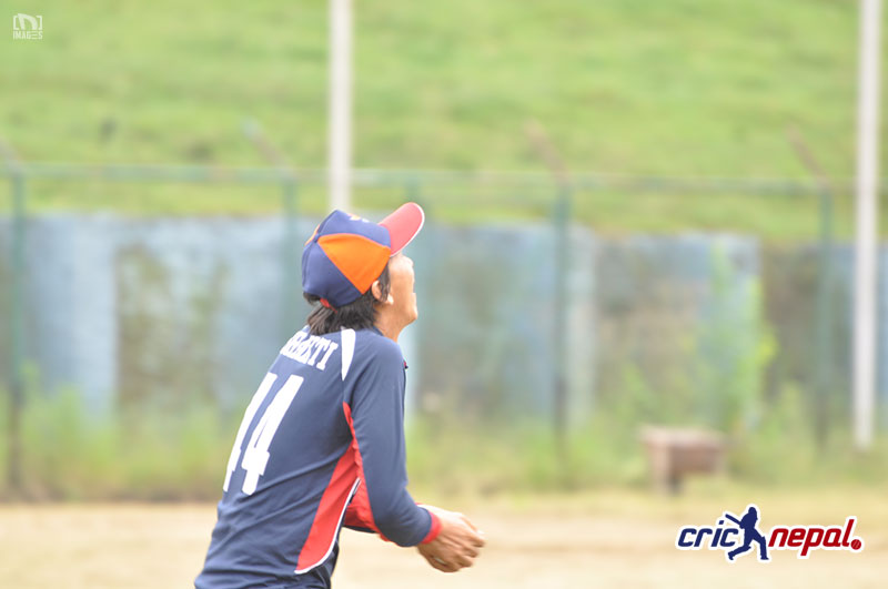 Nepali Cricket Team in Closed Camp for Asiad. Photo: Nischal Tiwari/ CricNepal