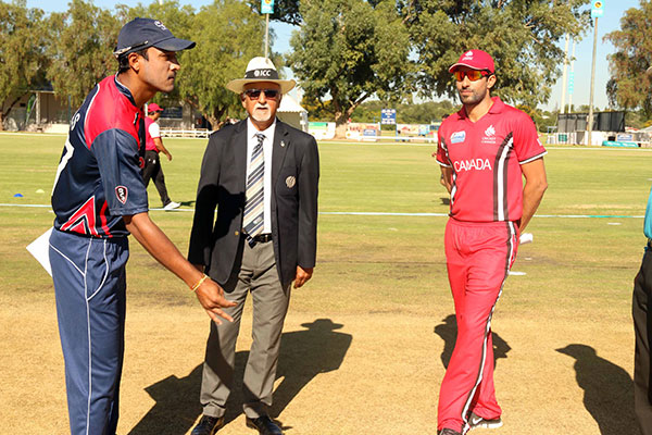 Nepal vs Canada - ICC WCL 2 Toss