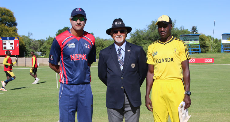 Paras Khadka and Frank Nsubuga