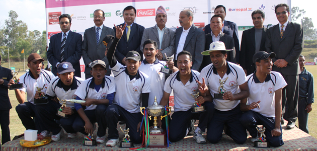 NMB Bank - Winner of 14th Soaltee Super Sixes 2012