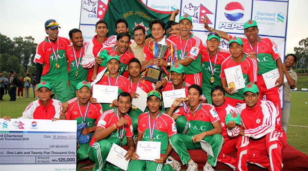 Tribhuvan Army Club wins National Twenty20